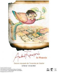 Affiche de l'exposition André François