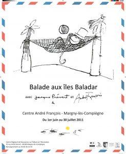 Affiche de l'exposition Lettres des Iles Baladar