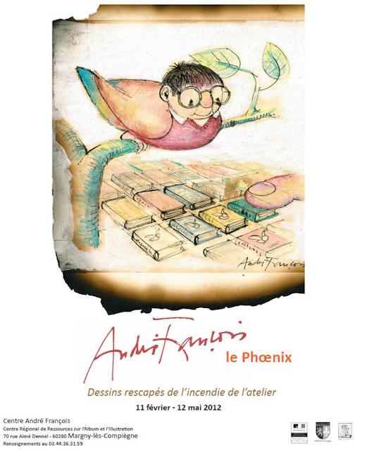 Chez les libraires associés André François, le phoenix