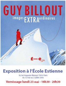 Guy Billout expose à l'école Estienne