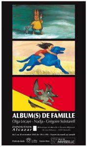 Affiche de l'exposition Albums de famille