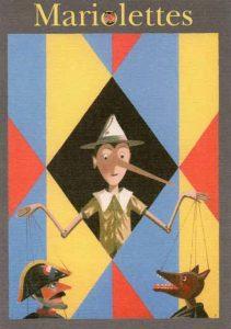 """Affiche de l'exposition : """"Mariolettes"""""""