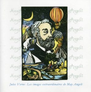 """Visuel de l'exposition : """"Jules Verne – Les Images extraordinaires de May Angeli"""""""