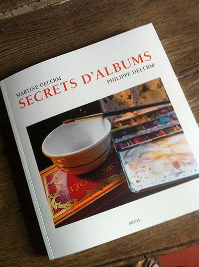 """couverture de """"secrets d'albums"""""""