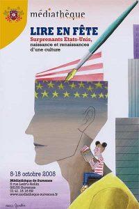 """Affiche de l'exposition """"Surprenants États-Unis"""""""