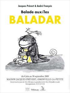 Affiche de l'exposition Balade aux Iles Baladar