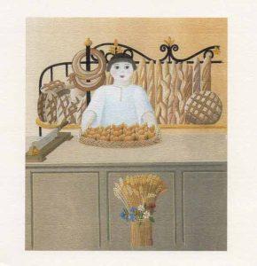 """Visuel de l'exposition : """"Croûtes de pain"""""""