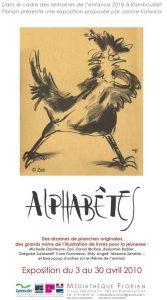 """Affiche de l'exposition : """"Alphabêtes"""""""